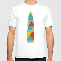 Lipstick Hues Mens Fitted Tee White SMALL