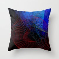 String Theory 03 Throw Pillow
