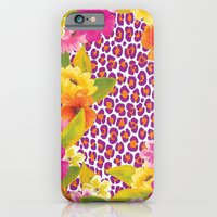 iPhone & iPod Case featuring Floral Leopard  by Aimee St Hill