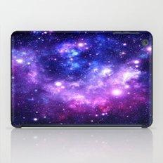 Purple Blue Galaxy Nebula iPad Case