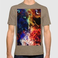 New Nebula Design Mens Fitted Tee Tri-Coffee SMALL