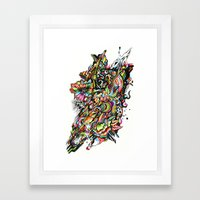 mole01 Framed Art Print