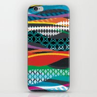 Wave Blaze iPhone & iPod Skin