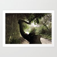 The strange trees Art Print
