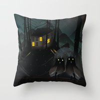 Outsiders Throw Pillow