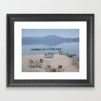 Greek Beauty Framed Art Print