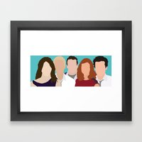 How I Met Your Mother Framed Art Print