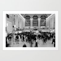 Grand Central,  Art Print