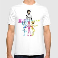 Magical Girls CMYK Mens Fitted Tee White SMALL