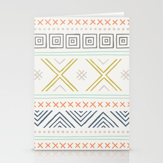 Into the West - in Mixed Earthtones Stationery Card