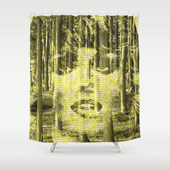 Lifelike. Shower Curtain