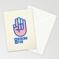 BORING N0.1 Stationery Cards