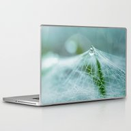 A Large Spider Web On Th… Laptop & iPad Skin