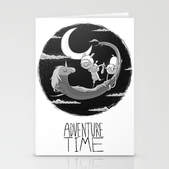 Adventure Time Stationery Card