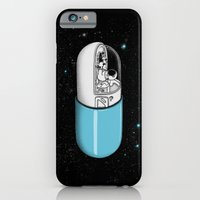 iPhone Cases featuring Space Capsule by Jorge Lopez