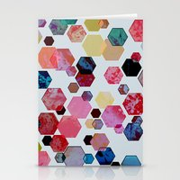 C13 construct hex v1 Stationery Cards