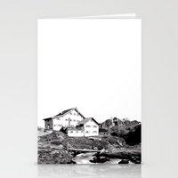 Neue Regensburger Hütte Stationery Cards