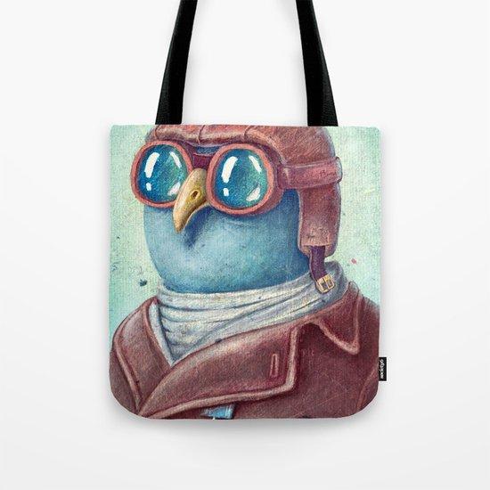 Pilot Captain Ivan Twittor Tote Bag