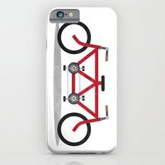 Broken Teamwork Tandem Bicycle iPhone 6s Slim Case
