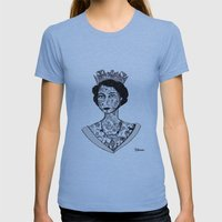 Grief is the price we pay for love - The Queen 2013 Womens Fitted Tee Athletic Blue SMALL