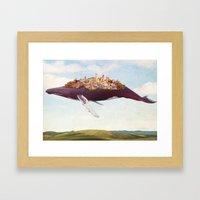 Dreams Of Moving On Framed Art Print
