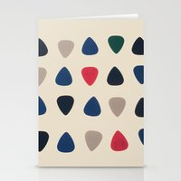 Guitar Pics Stationery Cards