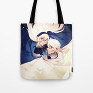Tote Bag featuring Choose Your Path by Blue