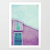 Old Fish Factory Art Print