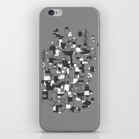 Floating Village iPhone & iPod Skin