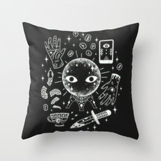 I See Your Future: Glow Throw Pillow