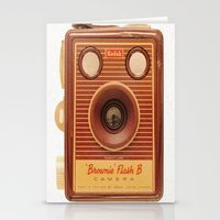 Vintage Box Brownie Came… Stationery Cards
