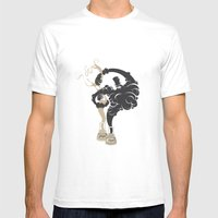 Dr. Jekyll & Mr. Hyde Mens Fitted Tee White SMALL