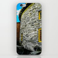 Round barn exterior iPhone & iPod Skin