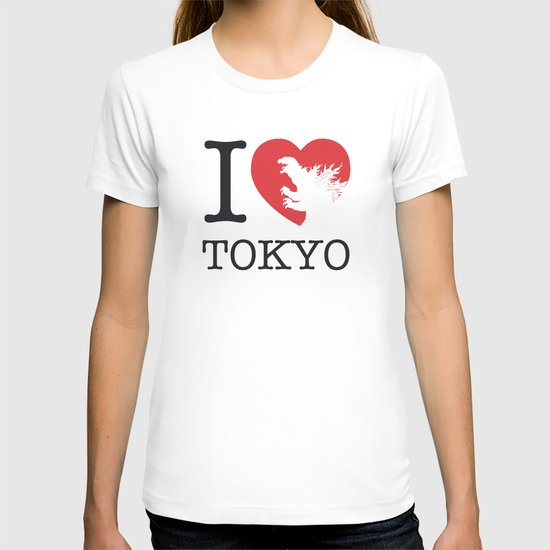 No029-1 My Godzilla 1954 minimal movie poster T-shirt
