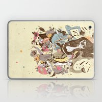 The Great Horse Race! Laptop & iPad Skin