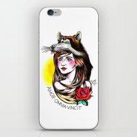 Chica Lobo iPhone & iPod Skin