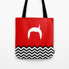 Black Lodge Dreams: Dale Cooper's Hair (Twin Peaks) Tote Bag