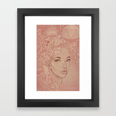 Honey Lamb Framed Art Print