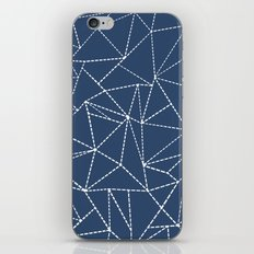 Ab Dotted Lines Navy iPhone & iPod Skin