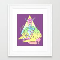 annihilation of the wicked Framed Art Print