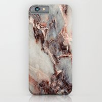 iPhone Cases featuring Marble Texture 85 by Robin Curtiss