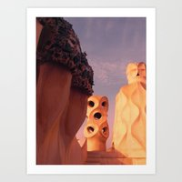 Bacelona Art Print