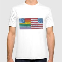 Flags For The Future 4: … Mens Fitted Tee White SMALL