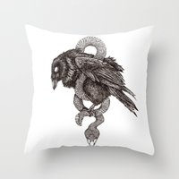 The Hangman's Rope Throw Pillow