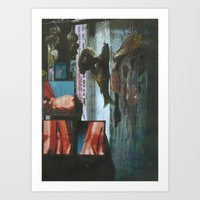 Like burning gasoline and grow there Art Print