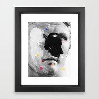 Composition 476 Framed Art Print