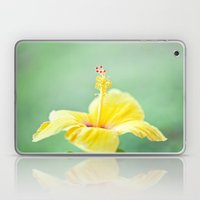 Yellow Hibiscus 2 Laptop & iPad Skin