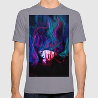 DROWN Mens Fitted Tee Slate SMALL