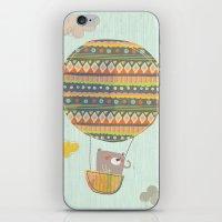 Bear In The Air iPhone & iPod Skin