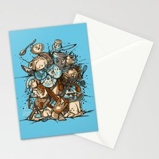 Kitchen Fight Stationery Cards